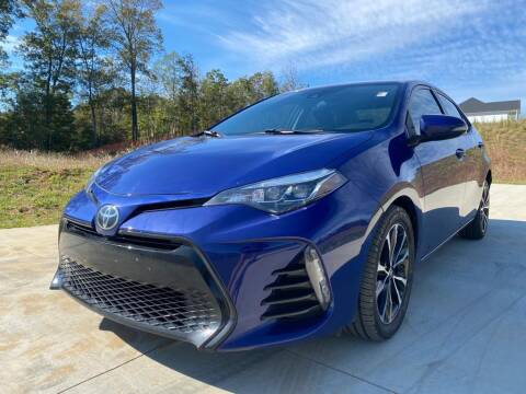2017 Toyota Corolla for sale at El Camino Auto Sales in Sugar Hill GA
