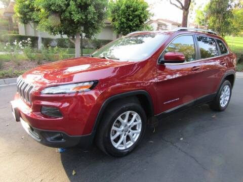 2017 Jeep Cherokee for sale at E MOTORCARS in Fullerton CA