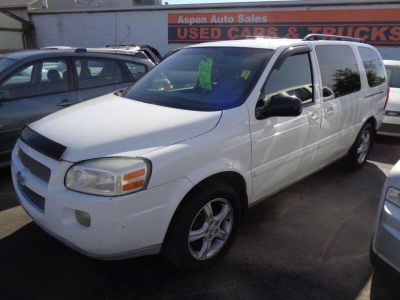 2005 Chevrolet Uplander for sale at Aspen Auto Sales in Wayne MI