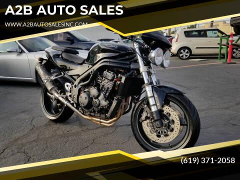 2004 Triumph SPEED TRIPLE for sale at A2B AUTO SALES in Chula Vista CA