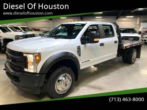 2018 Ford F-550 Super Duty for sale at Diesel Of Houston in Houston TX