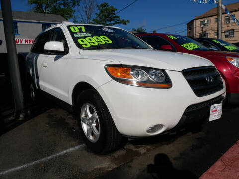2007 Hyundai Santa Fe for sale at M & R Auto Sales INC. in North Plainfield NJ