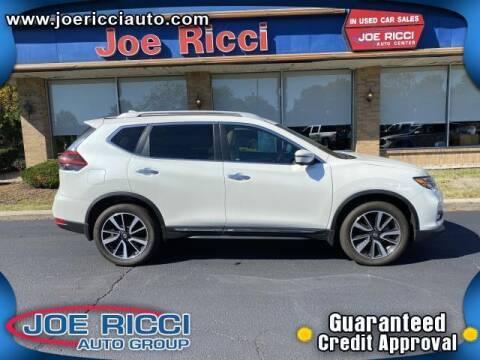 2018 Nissan Rogue for sale at JOE RICCI AUTOMOTIVE in Clinton Township MI