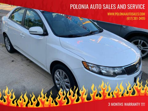 2012 Kia Forte for sale at Polonia Auto Sales and Service in Hyde Park MA