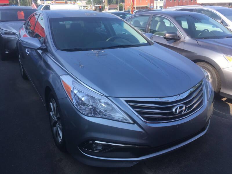 2016 Hyundai Azera for sale at MELILLO MOTORS INC in North Haven CT