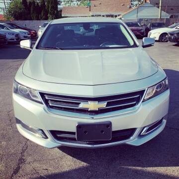 2015 Chevrolet Impala for sale at Big Three Auto Sales Inc. in Detroit MI