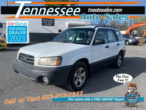 2004 Subaru Forester for sale at Tennessee Auto Sales in Elizabethton TN