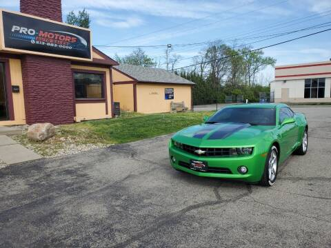 2010 Chevrolet Camaro for sale at Pro Motors in Fairfield OH