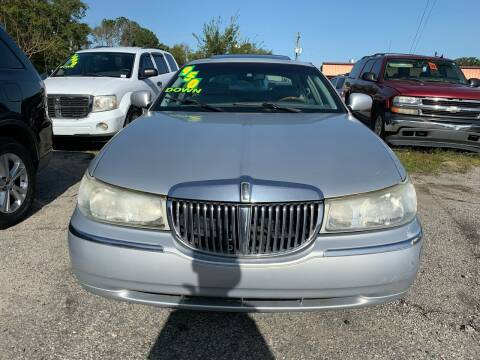 2002 Lincoln Town Car for sale at Auto Mart in North Charleston SC