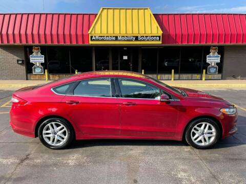 2015 Ford Fusion for sale at Affordable Mobility Solutions, LLC - Standard Vehicles in Wichita KS