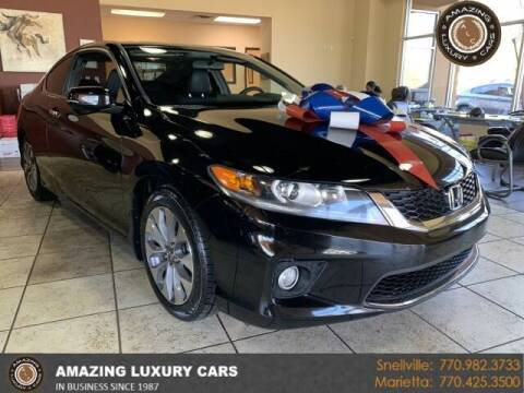 2015 Honda Accord for sale at Amazing Luxury Cars in Snellville GA