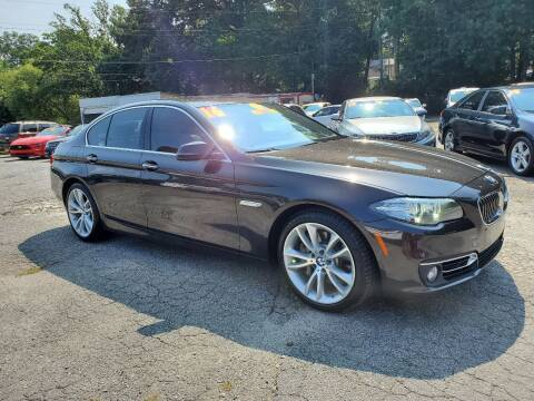 2016 BMW 5 Series for sale at Import Plus Auto Sales in Norcross GA