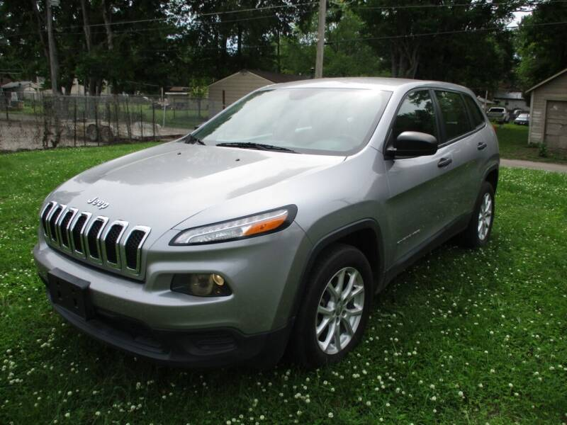 2014 Jeep Cherokee for sale at Dons Carz in Topeka KS