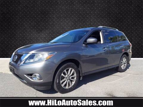 2016 Nissan Pathfinder for sale at Hi-Lo Auto Sales in Frederick MD