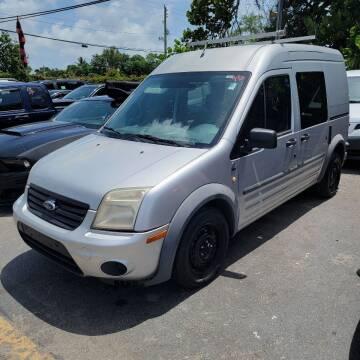 2010 Ford Transit Connect for sale at America Auto Wholesale Inc in Miami FL