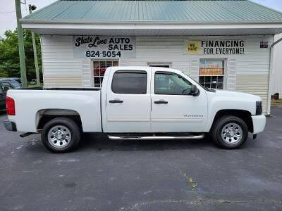 2011 Chevrolet Silverado 1500 for sale at STATE LINE AUTO SALES in New Church VA
