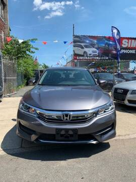 2016 Honda Accord for sale at Simon Auto Group in Newark NJ