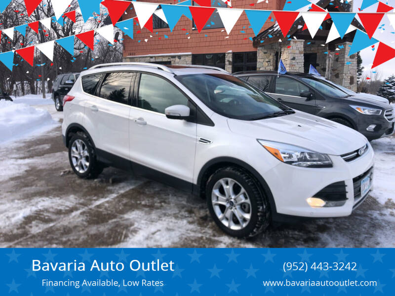 2016 Ford Escape for sale at Bavaria Auto Outlet in Victoria MN