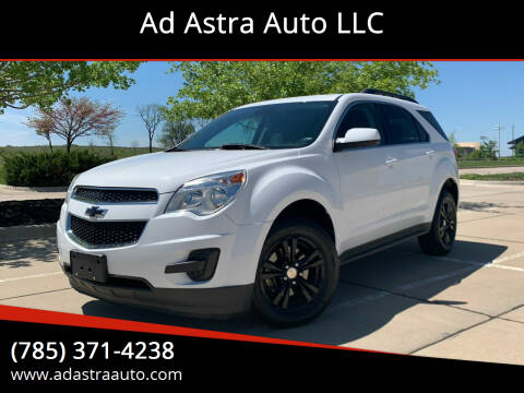 2012 Chevrolet Equinox for sale at Ad Astra Auto LLC in Lawrence KS