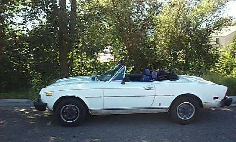 1980 FIAT 2000 for sale at Classic Car Deals in Cadillac MI