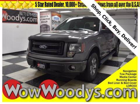 2013 Ford F-150 for sale at WOODY'S AUTOMOTIVE GROUP in Chillicothe MO