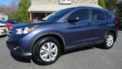 2012 Honda CR-V for sale at Driven Pre-Owned in Lenoir NC