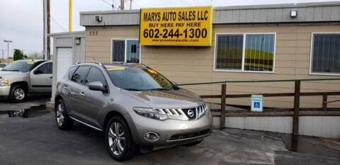 2009 Nissan Murano for sale at Marys Auto Sales in Phoenix AZ