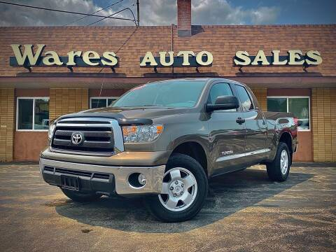 2013 Toyota Tundra for sale at Wares Auto Sales INC in Traverse City MI