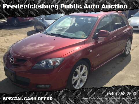2008 Mazda MAZDA3 for sale at FPAA in Fredericksburg VA