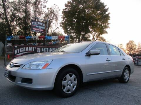 2006 Honda Accord for sale at Vigeants Auto Sales Inc in Lowell MA