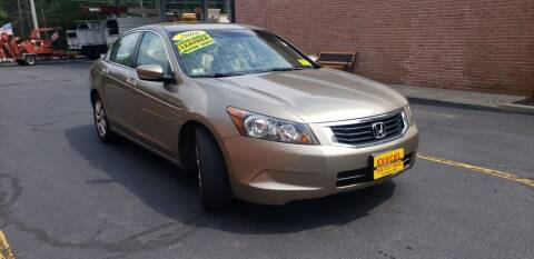 2008 Honda Accord for sale at Exxcel Auto Sales in Ashland MA