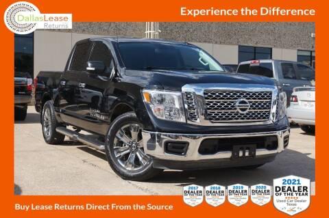 2018 Nissan Titan for sale at Dallas Auto Finance in Dallas TX