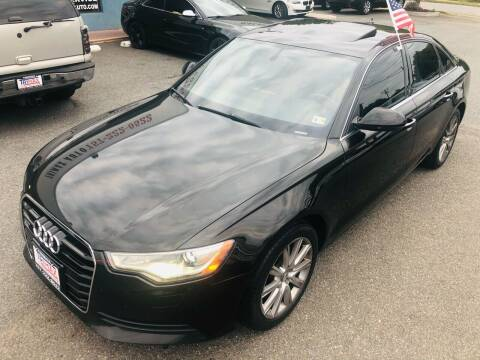 2013 Audi A6 for sale at Trimax Auto Group in Norfolk VA
