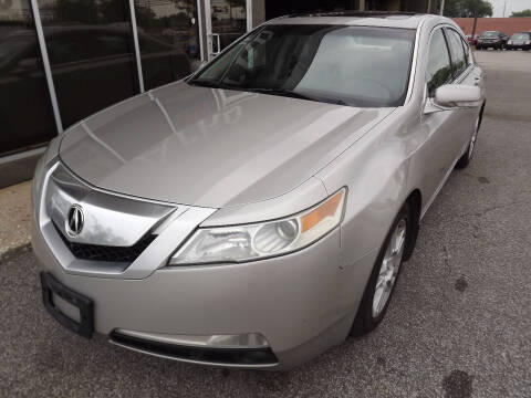2010 Acura TL for sale at Arko Auto Sales in Eastlake OH