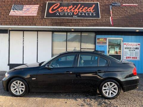 2007 BMW 3 Series for sale at Certified Auto Sales, Inc in Lorain OH