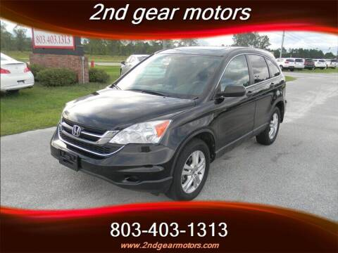 2010 Honda CR-V for sale at 2nd Gear Motors in Lugoff SC