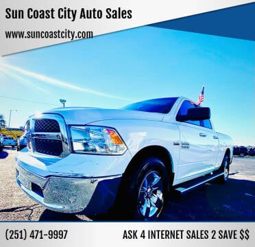 2018 RAM Ram Pickup 1500 for sale at Sun Coast City Auto Sales in Mobile AL