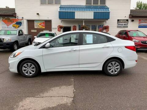 2017 Hyundai Accent for sale at Twin City Motors in Grand Forks ND
