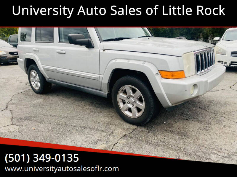 2007 Jeep Commander for sale at University Auto Sales of Little Rock in Little Rock AR