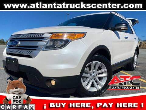 2013 Ford Explorer for sale at ATLANTA TRUCK CENTER LLC in Brookhaven GA