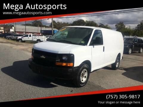 2010 Chevrolet Express Cargo for sale at Mega Autosports in Chesapeake VA