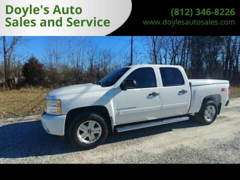 2008 Chevrolet Silverado 1500 for sale at Doyle's Auto Sales and Service in North Vernon IN
