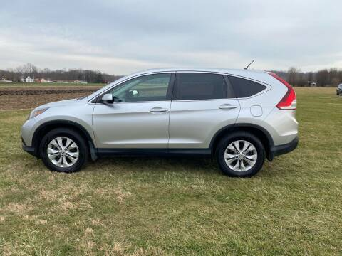 2013 Honda CR-V for sale at Wendell Greene Motors Inc in Hamilton OH