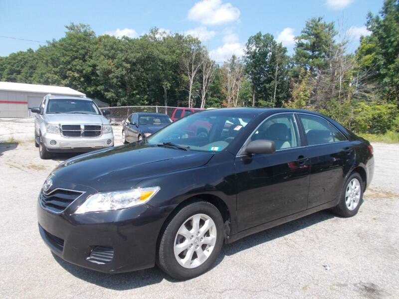 2011 Toyota Camry for sale at Manchester Motorsports in Goffstown NH