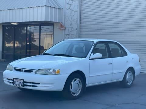 1998 Toyota Corolla for sale at AutoAffari LLC in Sacramento CA
