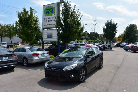 2014 Ford Focus for sale at Rite Ride Inc 2 in Shelbyville TN