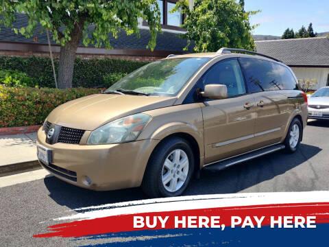 2004 Nissan Quest for sale at Apollo Auto El Monte in El Monte CA