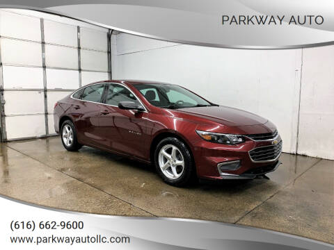 2016 Chevrolet Malibu for sale at PARKWAY AUTO in Hudsonville MI