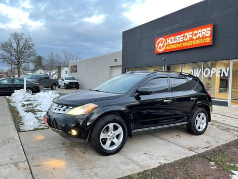 2005 Nissan Murano for sale at HOUSE OF CARS CT in Meriden CT