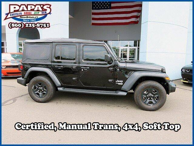 2018 Jeep Wrangler Unlimited for sale in New Britain, CT